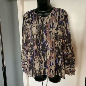 like new Urban Outf S@S multi color blouse (6/$14)
